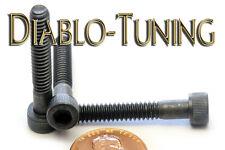 "#10-24 x 1-1/4"" - Qty 10 - Socket Head Cap Screws SAE Alloy Steel w/ Black Oxide"