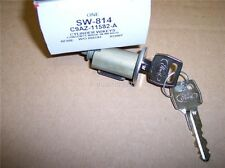 1965 1966 1967 1968 1969 FORD IGNITION SWITCH LOCK CYLINDER AND KEYS ASSY NOS