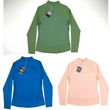 Puma Mesh 1/4 Zip Golf Pullover Multi-Color Womens SZ S ( 595848 )