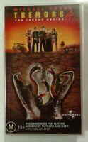 Tremors 4: The Legend Begins VHS 2004 Horror S. S. Wilson Universal Small Case