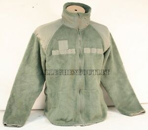 Genuine US Military Polartec Fleece Half-Zip Pullover Shirt Jacket *NEW* Size L
