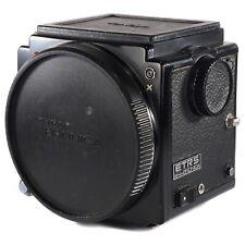 Zenza Bronica ETRS 6x4.5 solo corpo/MEDIO FORMATO 645 Telecamera + 135 SPLIT SCREEN