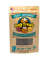 Natural Treat, 3.5 Ounces Per Bag, Beef  Liver N Cheese-100%