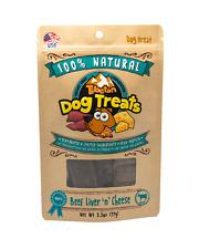 Tibetan Dog Treats - Beef  Liver N Cheese-100% Natural Treat, 3.5 Ounces Per Bag