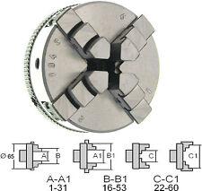229005 GG-Tools Vierbackenfutter Drehfutter 65mm für EMCO C0 Aufnahme M14x1