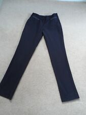 girls new look black trouses size 12 years