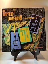 "RAPPERS CONVENTION  12""  VINYL RECORD  LP 1986"