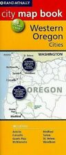 WESTERN OREGON CITIES, CITY MAP BOOK 8 CITIES RAND MCNALLY G-5