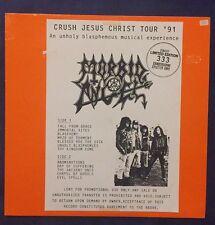 Morbid Angel - Crush Jesus Christ Tour 1991 LP/Vinyl (Metal Sammlung)