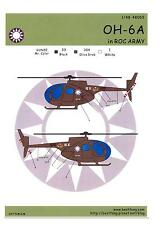 Bestfong Decals 1/48 HUGHES OH-6A CAYUSE Republic of China Air Force