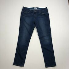 Paige Jeans Skyline Ankle Peg Jeans Size 32 Dark Soft Stretch