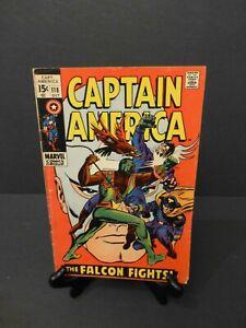 Captain America Comic No.118 (1969) 2nd Appearance of Falcon