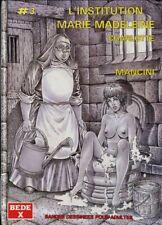 BD adultes  L'institution Marie-Madeleine Charlotte International Presse Magazin