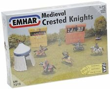 1:72 Medieval Crested Knights MIniature Figures EMHAR 7210 Grandstand Tent Mount
