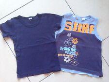 Lot 2 Débardeurs/T-shirts Petit Bateau - Kiabi 3 Ans