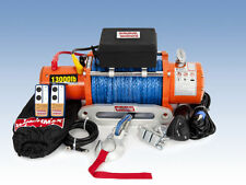 ELECTRIC WINCH 13000lb 12V SYNTHETIC ROPE WINCHMAX