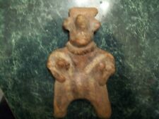 pre Columbian sheep face Jalisco female figure statue indian artifact arrowhead