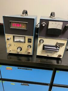 Harshaw Nuclear Systems 2000A & 2000B Thermoluminescence detector & PICOAMMETER