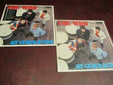 THE WHO MY GENERATION DELUXE EDITIONS STEREO & MONO 5 LP SET LOT OF BONUS TRACKS