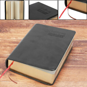 Vintage Thick Paper Notebook Notepad Leather Journal Bible Diary Book Sketchbook