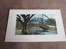 1908 fr BB Cumbria postcard - Pelter bridge Rydal - Lake District
