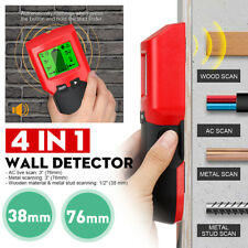 Wall Scanner Wood Stud Center Finder Metal Live Wire Cable Detector LCD Display