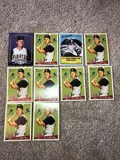 Bill Mazeroski Lot of 10 Pirates 3 Different Cards Base, Insert