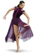 Dance Costume Small Adult Eggplant Purple Contemporary Lyrical Weissman Solo