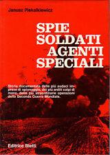 SPIE SOLDATI AGENTI SPECIALI Piekalkiewicz  Bietti 1970