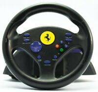 GameCube - Lenkrad / Racing / Steering Wheel Ferrari Challenge 2 mit OVP