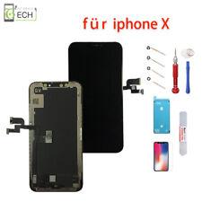 iPhone X LCD Display Einheit schwarz Retina Touchscreen Bildschirm