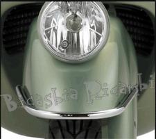 5240 - ORIGINALE PIAGGIO PARAURTI PARAFANGO ANTERIORE CROMATO VESPA 250 300 GTS