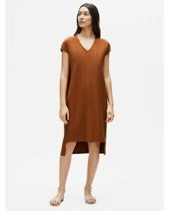 """BNWT  """"EILEEN FISHER""""  Rib V Neck Dress and Black V Neck Dress Size XL"""