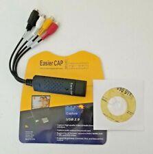 EASIER CAP CAPTURE USB 2.0 VIDEO TV DVD VHS DVR Recorder Adapter