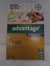 Advantage Cats Over  4 kg   6 Pack