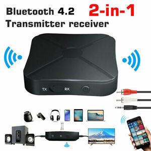 Bluetooth 5.0 4.2 Audio Receiver Transmitter Wireless Adapter PC TV  EI LD