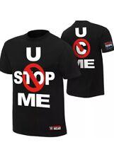 John Cena Black T Shirt/ New/ Kids/ Youth Small ( Age 9-10 )