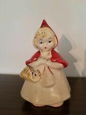 McCoy Red Riding Hood Cookie Jar