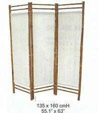 Spanische Wand,Raumteiler,Bambus-Paravent,Paravent,Sichtschutz