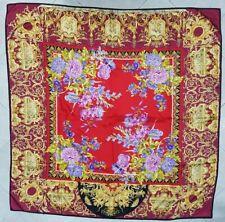 Versace Atelier foulard 100% seta vintage Atelier Versace foulard 100% silk Soie