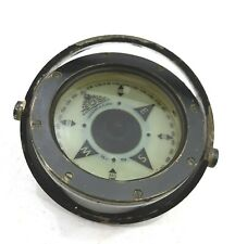Lifeboat Compass Cassens & Plath Gmbh International  Marine grey varnished Brass