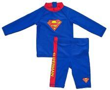 Superman UV-Badekleidung/UV Set Langarmshirt + Badehose