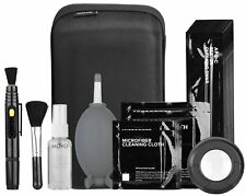 Movo Camera Cleaning Kit Loupe, Sensor Swabs, Cleaning Fluid, Air Blower & More