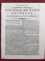 Chambéry 1792 Savoie Arbre de la Liberté Marat Émigrés à Morges en Suisse Buzot