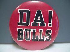"RARE CHICAGO BULLS ""DA BULLS"" CHAMPIONSHIP SEASON PINBACK - VERY GOOD CONDITION"