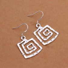 Dangle Earrings For Women E344 Fashion 925Sterling Solid Silver Jewelry Thread