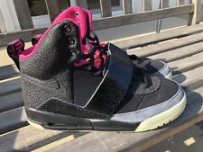 1b63590de Nike Air Yeezy Blink Black Pink 2009 Size 10.5 100% AUTHENTIC Kanye West