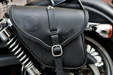 LEATHER SADDLE BAGS LEFT&RIGHT SIDE FOR DYNA MODELS  BEST ITALIAN QUALITY& STYLE