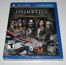 Injustice Gods Among Us Ultimate Edition Playstation Vita Factory Sealed