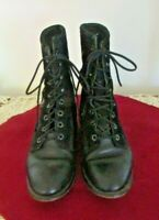 Laredo Sz 6 Women's Riding Boots Black Leather    #365*